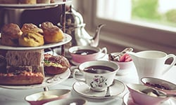 Tea for Two Package Kalamazoo Henderson Castle Inn Tours